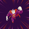 Bizarro Superman: The Animated Series Die-Cut>