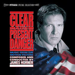 Clear And Present Danger - Complete Score