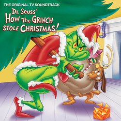 Dr. Seuss' How the Grinch Stole Christmas! - Green Colored LP