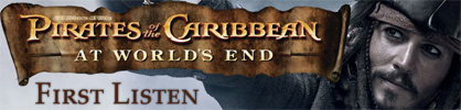 [Exclusive - Pirates of the Caribbean: At World's End - First Listen]