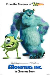 Monsters, Inc. (Blu-ray)