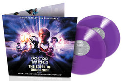 Doctor Who: The Caves of Androzani - Purple Vinyl
