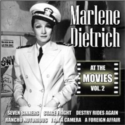 Marlene Dietrich: At the Movies, Vol. 2