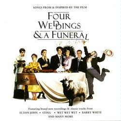 Four Weddings A Funeral Songs From Inspired By The Film