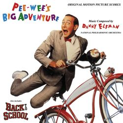 Pee-wee's Big Adventure / Back to School - Red Vinyl Edition
