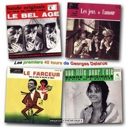 The First Georges Delerue's 45 RPM Records