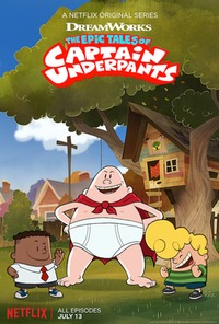 The Epic Tales of Captain Underpants (2018) TV Series
